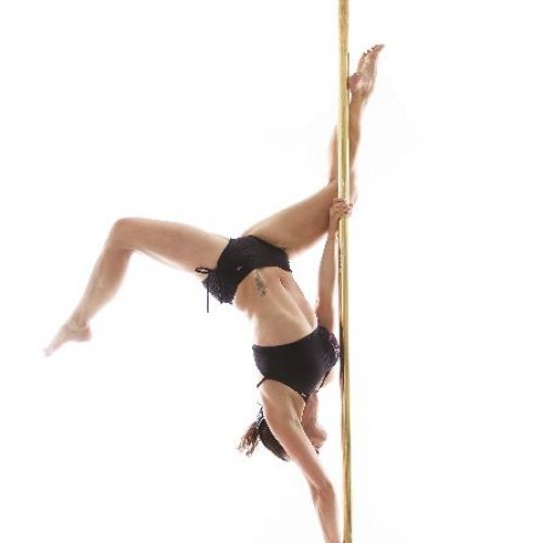Pole - butterfly - fitness